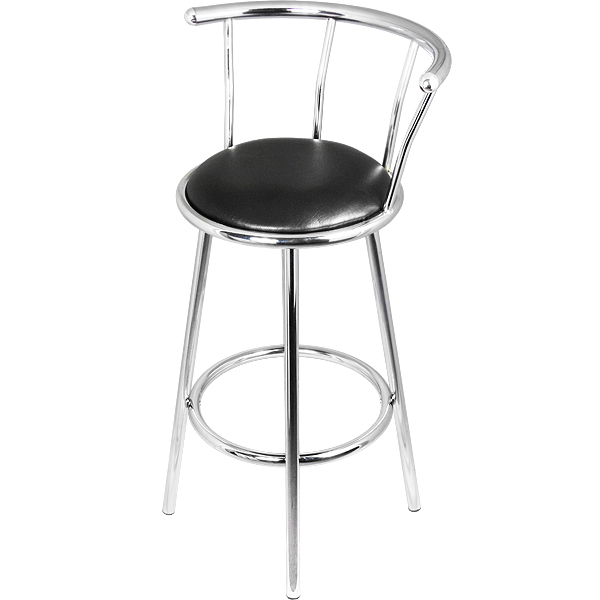Chrome Bar Stools ~ Chrome swivel bar stools barmans