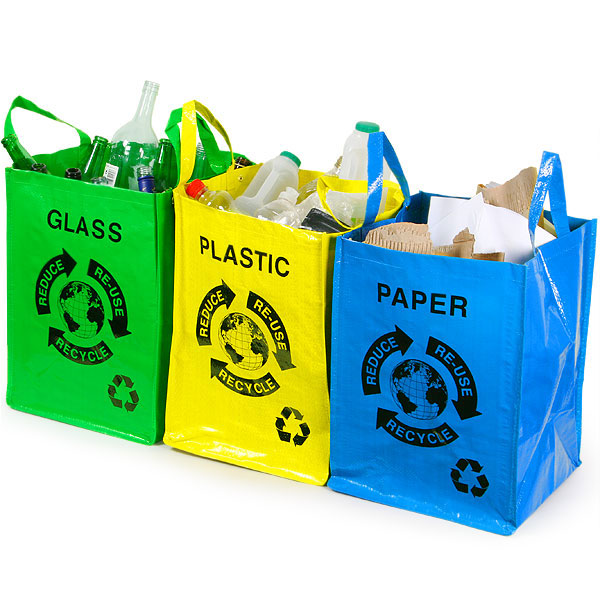 Recycle bags for Waste paper things