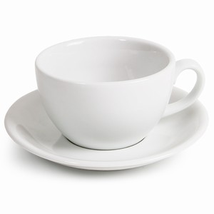 Royal Genware Bowl Cups & Saucers 14oz / 400ml