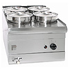 Parry 600 Series LPG 4 Pot Wet Bain Marie PGWB4P