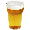Reusable Plastic Half Pint Glasses CE 10oz / 285ml
