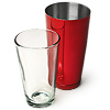 Professional Boston Cocktail Shaker - Red