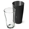 Professional Boston Cocktail Shaker - Black