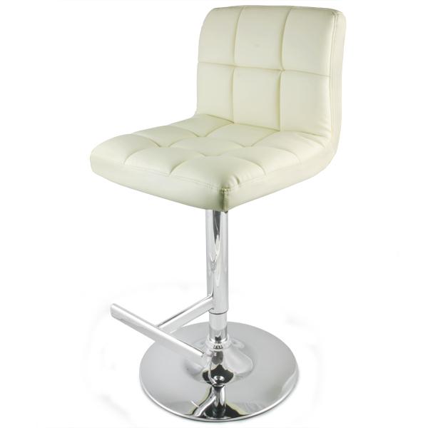 grid bar stool cream. Black Bedroom Furniture Sets. Home Design Ideas