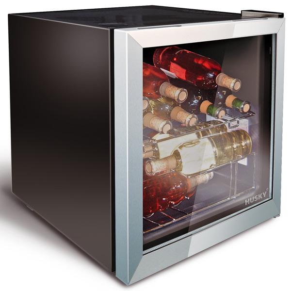 husky wine and drinks refrigerator. Black Bedroom Furniture Sets. Home Design Ideas