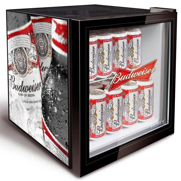 Budweiser Bottle Design Mini Fridge Barmans Co Uk