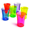 Econ Neon Polystyrene Shot Glasses CE 1.25oz / 35ml