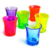Econ Neon Polystyrene Shot Glasses CE 0.9oz / 25ml