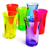 Econ Neon Polystyrene Shot Glasses CE 1.75oz / 50ml