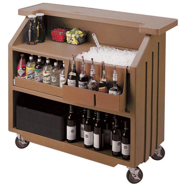 Portable Bars For The Home: Cambro Portable Bar 540 Dark Brown