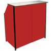Compact Portable Bar Red