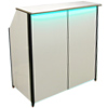 Compact Portable Bar White