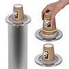Bonzer Stainless Steel Elevator Cup Dispenser