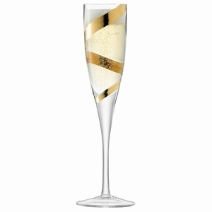 LSA Malika Grand Champagne Flutes Gold 7.9oz / 225ml