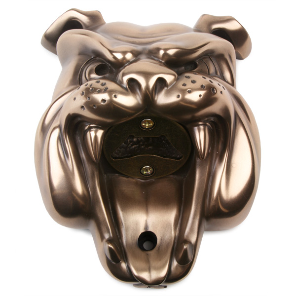 Beer Buddies Bulldog Wall Mounted Bottle Opener Barmans