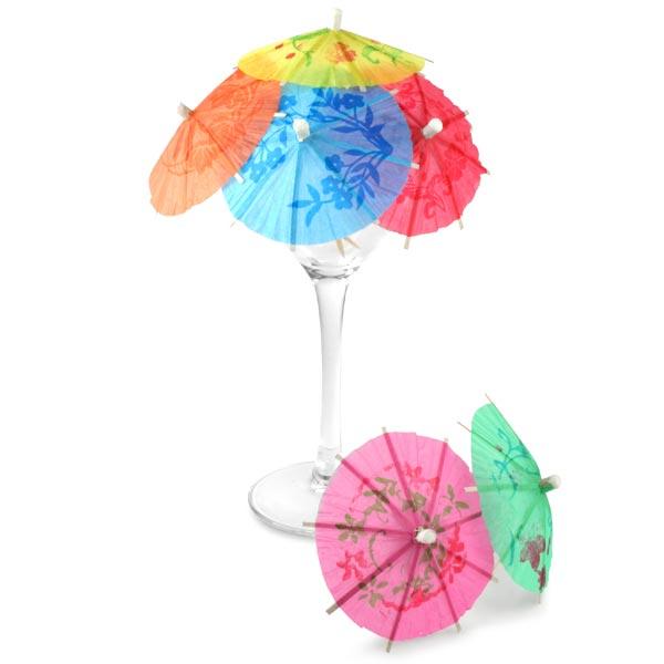 paper umbrellas for drinks