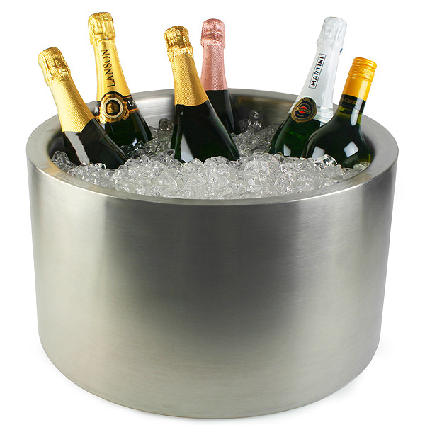 Elia Large Wine Cooler Wine Bucket Party Tub Ice Bucket