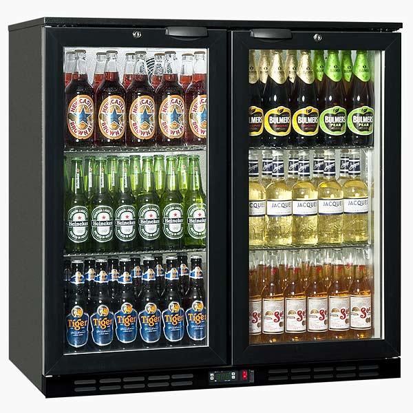 glass door beer fridge canada
