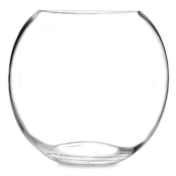 Glass cocktail fish bowl 92oz bar drinkstuff for Large plastic fish bowl