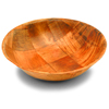 Round Woven Wooden Bowls