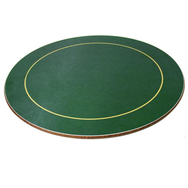 Melamine Round Placemats Green Barmanscouk