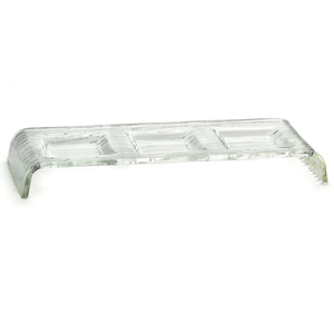 Cristal 3 Compartment Acrylic Sauce Dish