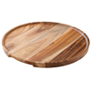 Utopia Acacia Wood Round Platter/Pizza Plate 12inch / 30cm