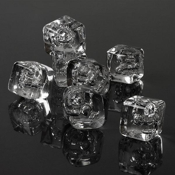 Acrylic ice cubes fake plastic buy