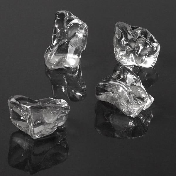 Acrylic ice chunks fake cubes plastic