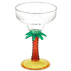 Palm Tree Acrylic Margarita Glasses 13oz / 370ml