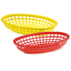 Classic Oval Food Baskets 24x15x5cm
