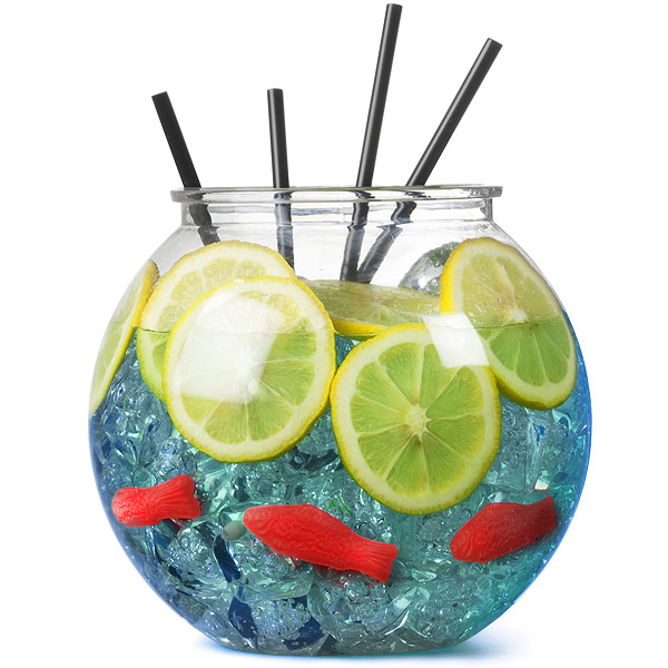 cocktail fish bowl 3ltr cocktail fishbowls