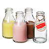 Traditional School Milk Bottle 7oz / 200ml