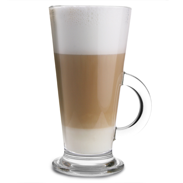 Latte Glasses 10oz 290ml Latte Mugs Glass Coffee Mugs