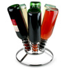 Premier Upright 6 Bottle Chrome Wine Rack