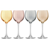 LSA Polka Metallics Wine Glasses 14oz / 400ml