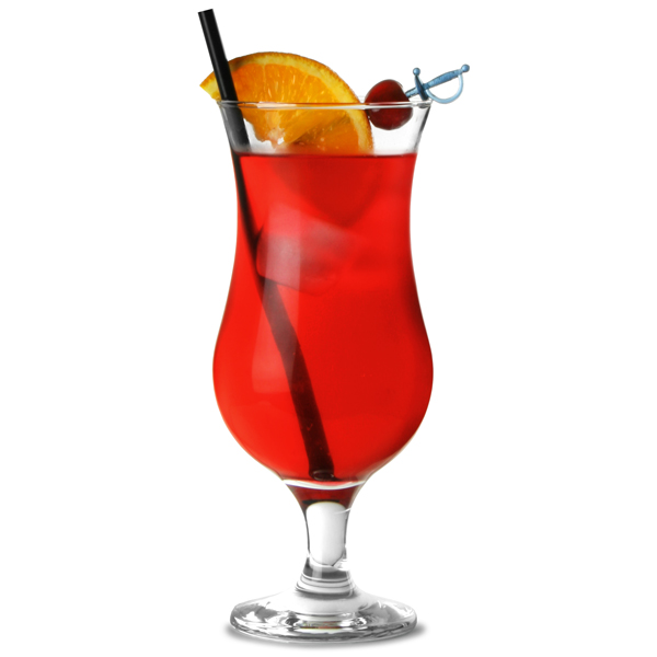 Entertain hurricane cocktail glasses 420ml stemmed cocktail glass ravenhead glassware - De scandinavische cocktail ...