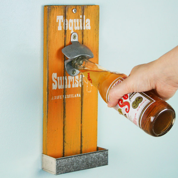 Mexican Style Wall Mounted Bottle Openers 30cm