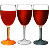 Flamefield Acrylic Wine Glasses 10oz / 290ml