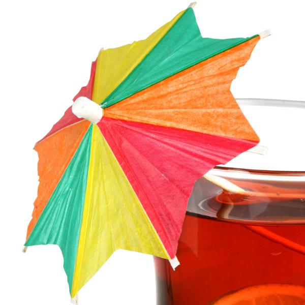 zick zack cocktail umbrellas