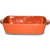 Emilio Terracotta Rock Hard Rectangular Dishes