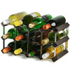 Traditional Wooden Wine Racks - Black Ash