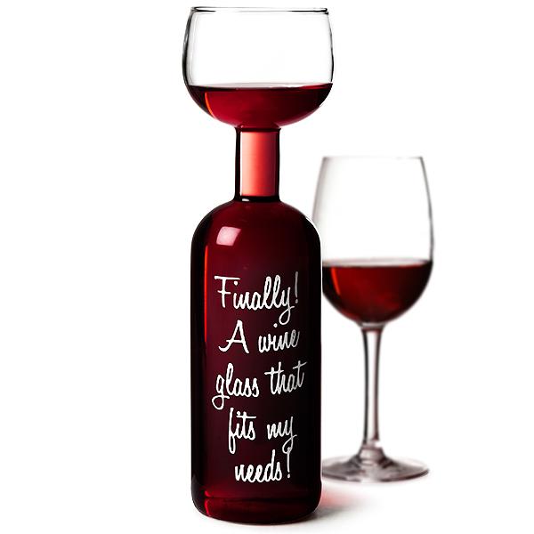 Wine Bottle Glass 750ml Giant Wine Glass Novelty Wine