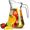City Glass Pitcher 51oz / 1.45ltr