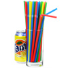 Summer Bright Bendy Straws 8.5inch