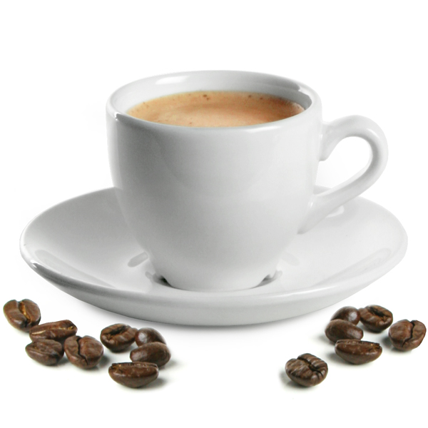 Churchill White Beverage Espresso Cups Saucers White