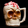 Ceramic Skull Tiki Mug 10oz / 295ml