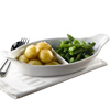 Royal Genware 2 Division Vegetable Dishes