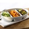 Royal Genware 3 Division Vegetable Dishes