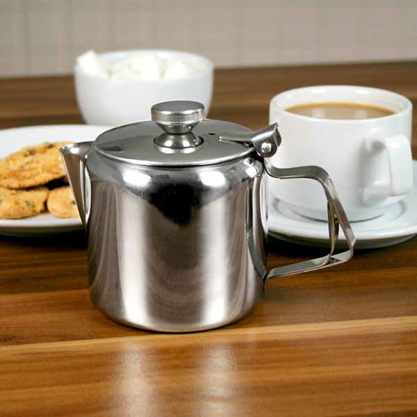 Teapot Planters: Stainless Steel Teapots Metal